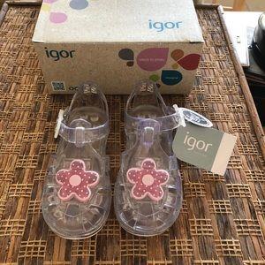 IGOR Shoes - IGOR Toddler Girls Transparent Shoes